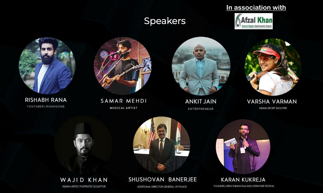 TEDx RGPV 2019 Speakers