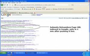 Sulumits Retsambew got indexed by Google